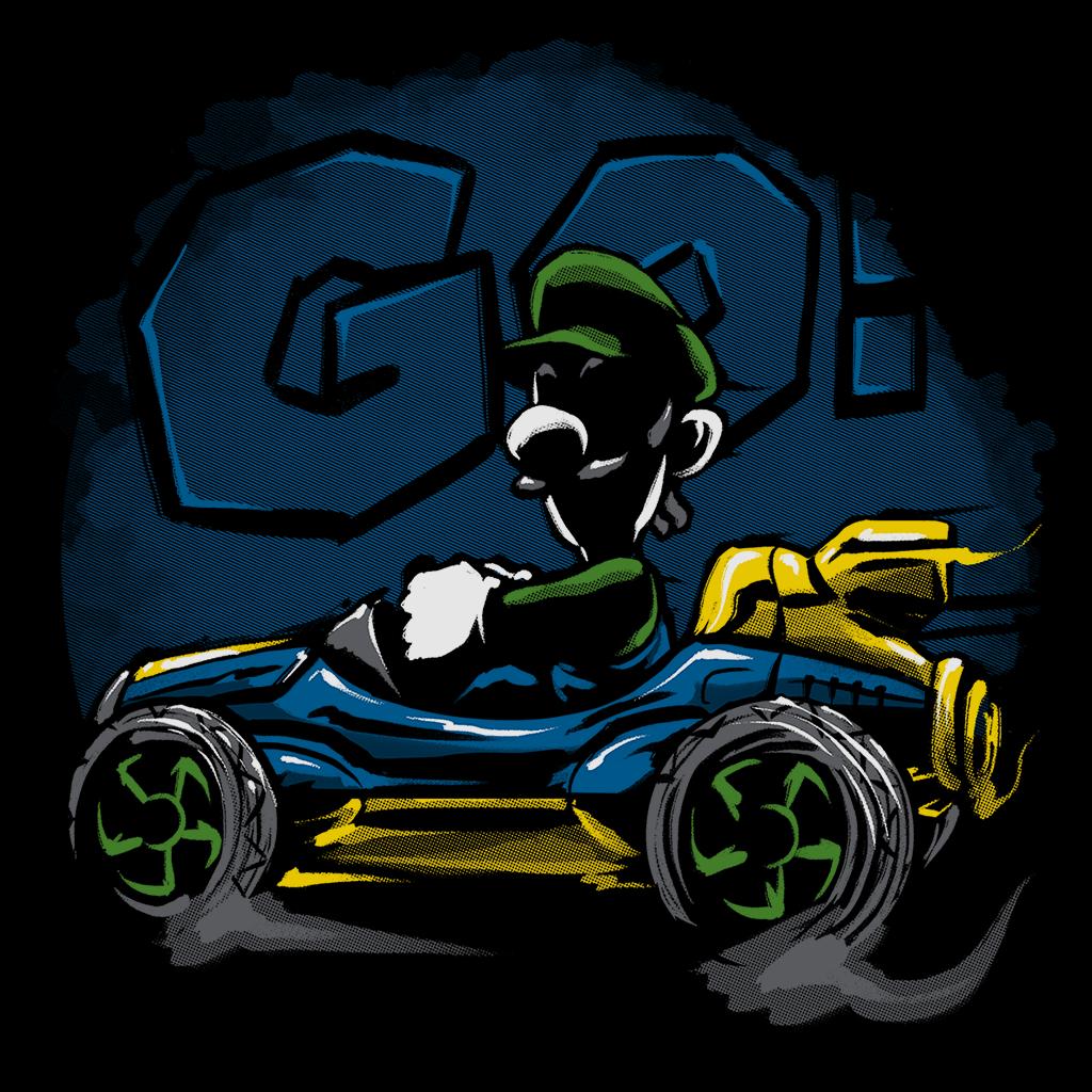 Pop-Up Tee: Racer Bro