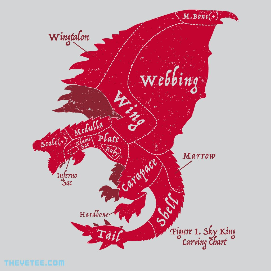 The Yetee: Sky King Carving Chart
