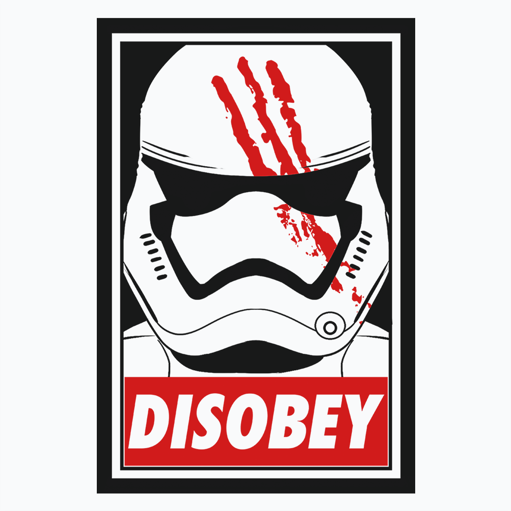 Pop-Up Tee: Disobey