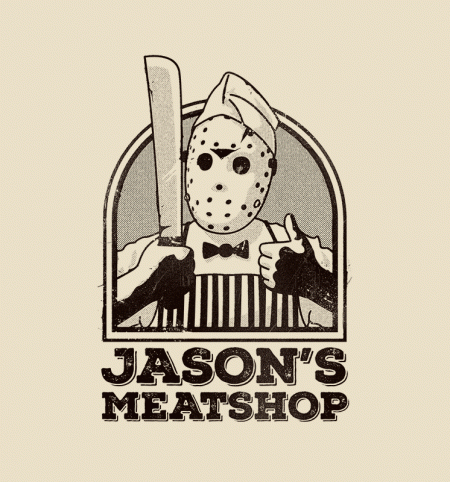 BustedTees: Jason's Meatshop