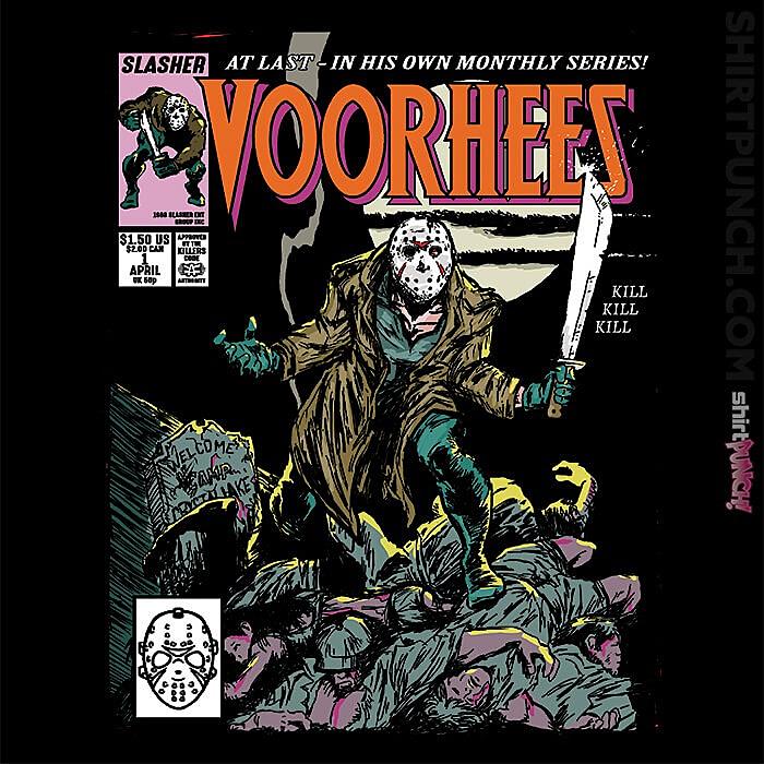 ShirtPunch: Voorhees Wolverine