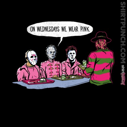 ShirtPunch: On Wednesday's We Wear Pink