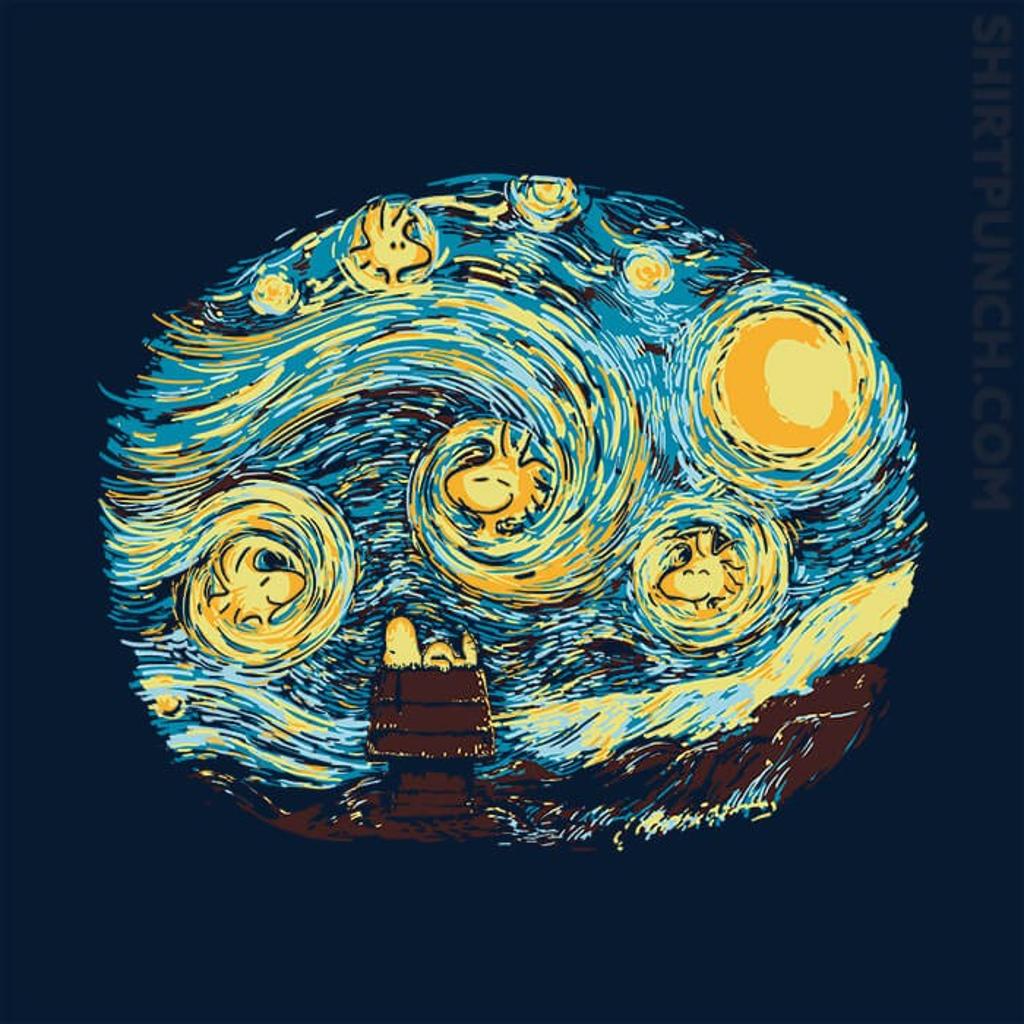 ShirtPunch: Woody Night