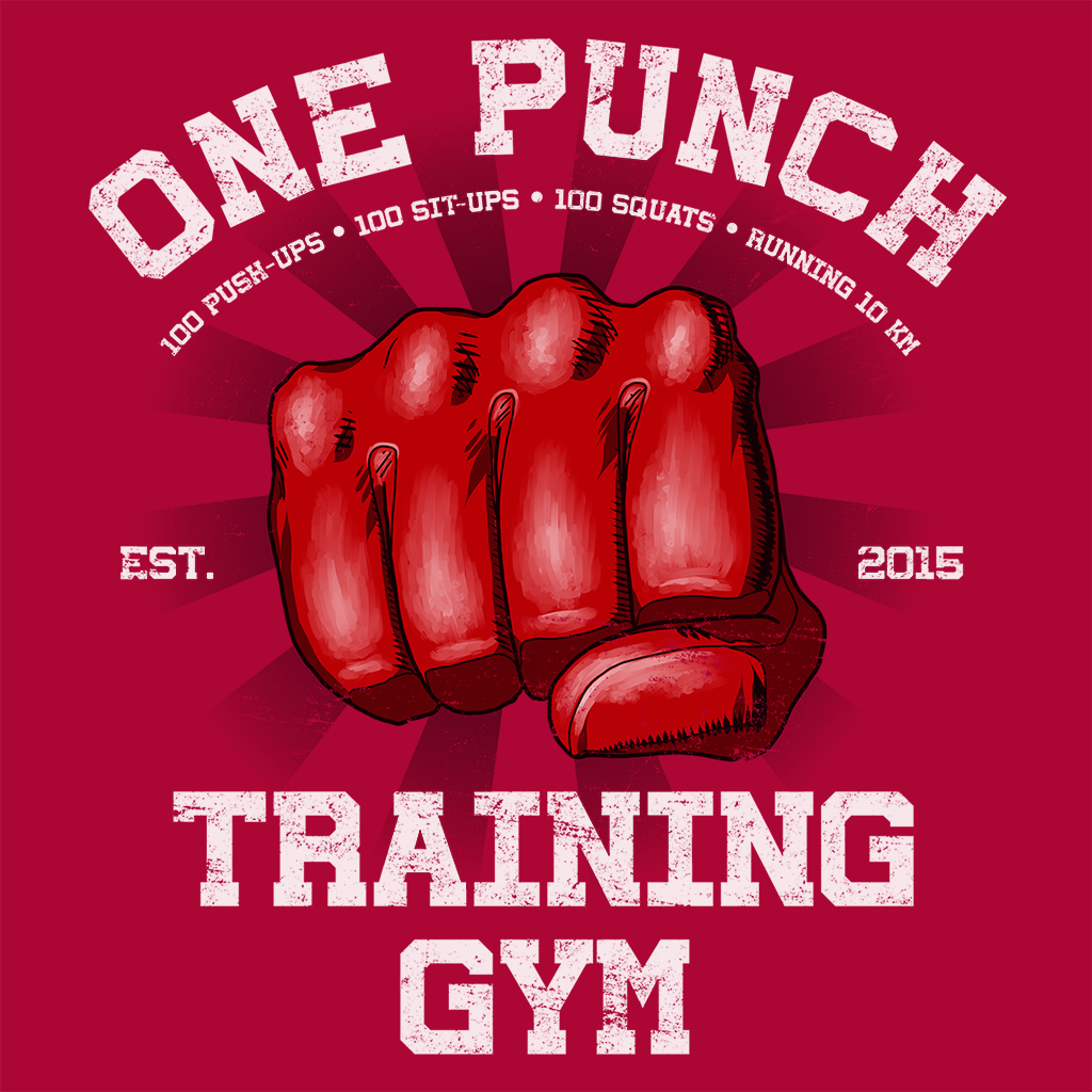 Pop-Up Tee: One Punch Gym
