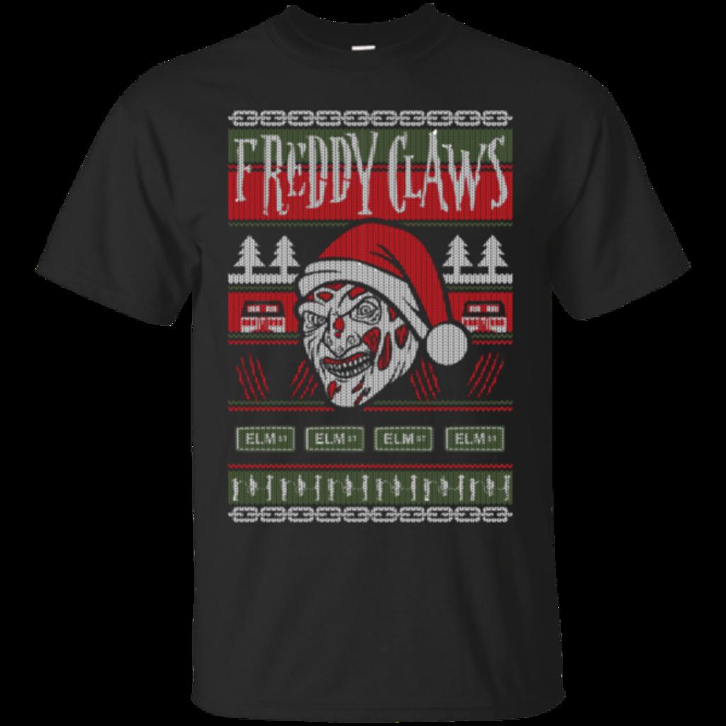 Pop-Up Tee: Freddy Claws