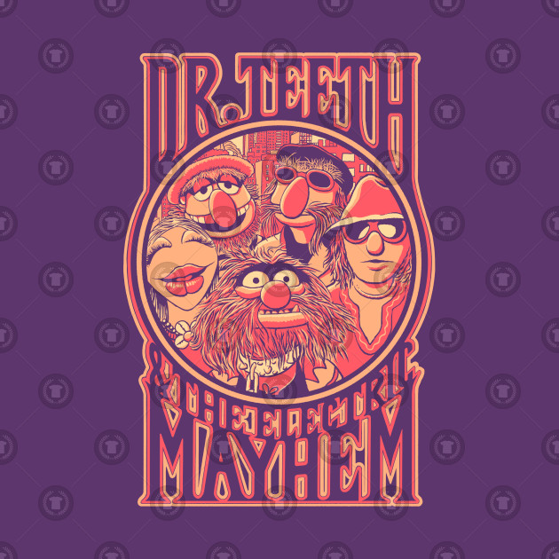 TeePublic: Dr. Teeth