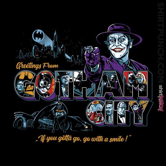 ShirtPunch: Greetings From Gotham