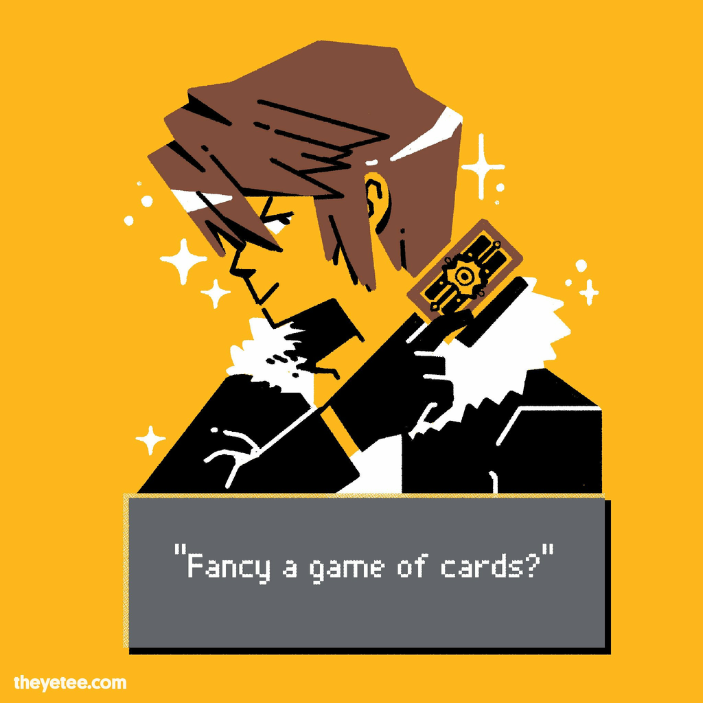 The Yetee: Fancy Card Game