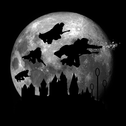 ShirtPunch: Full Moon Over Hogwarts