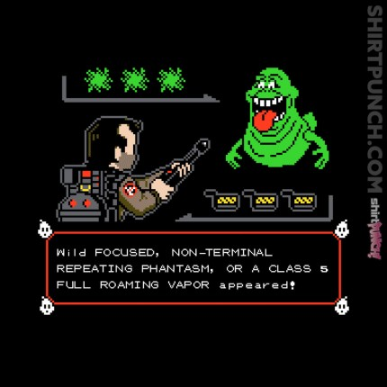 ShirtPunch: A Wild Slimer Appeared