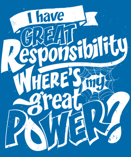 Qwertee: Great Responsibility
