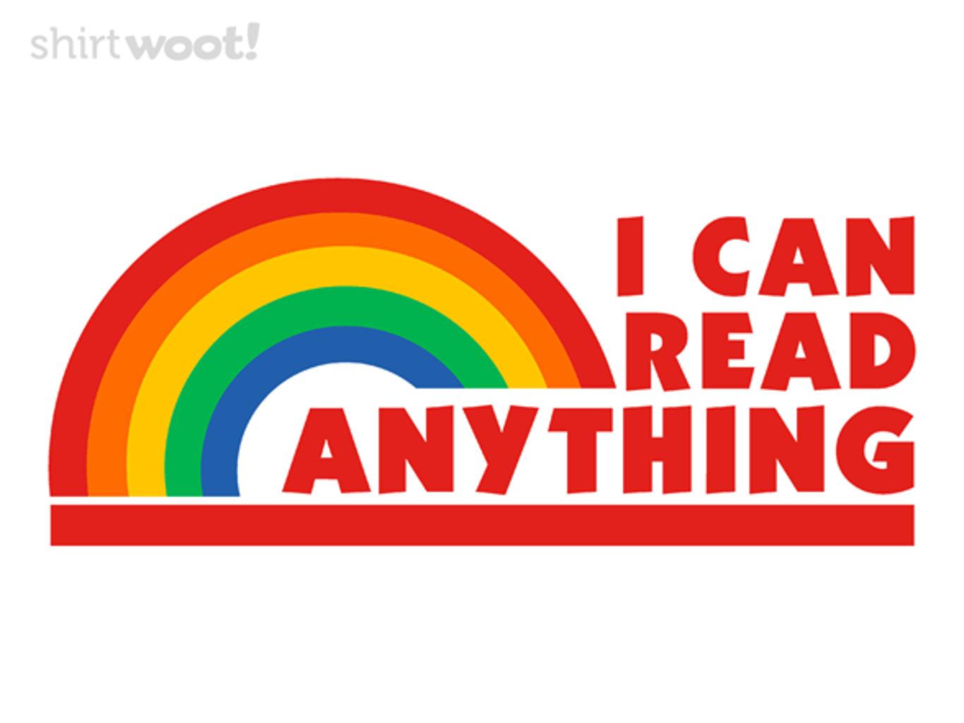 Woot!: Reading Anything