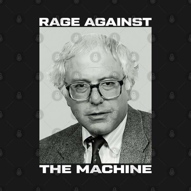 TeePublic: Bernie Sanders Rage Against The Machine