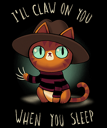 Qwertee: Nightmare kitty