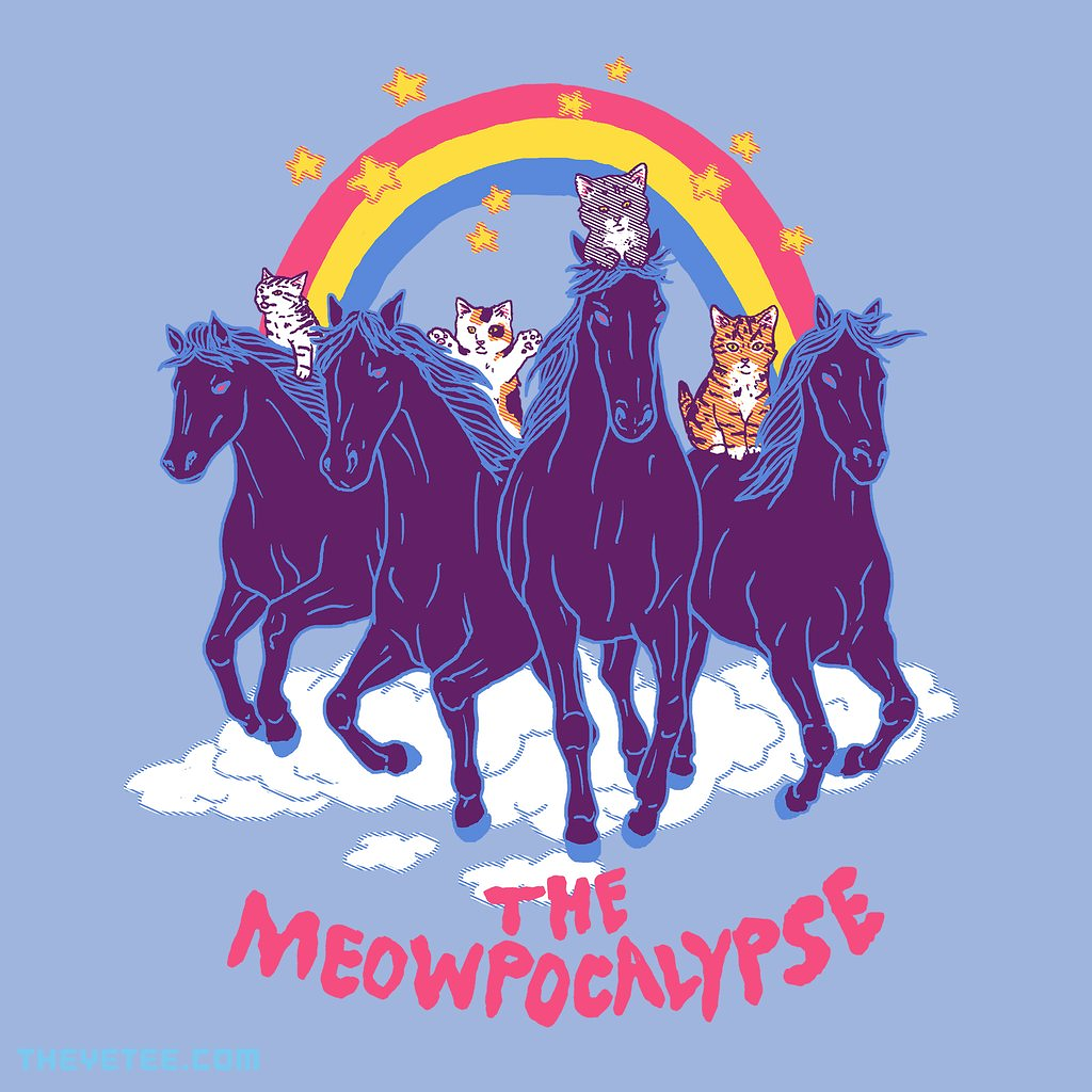 The Yetee: Four Horsemittens of the Meowpocalypse
