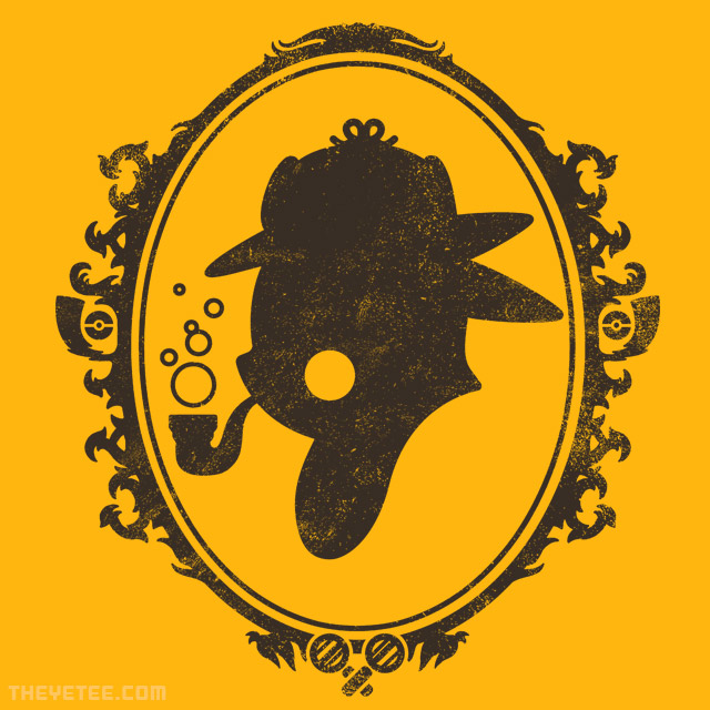 The Yetee: PikaDetective!