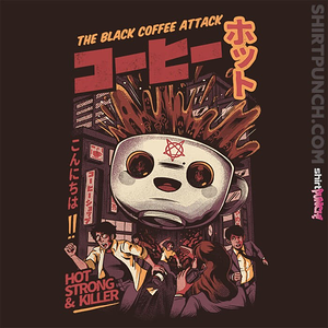 ShirtPunch: Black Coffee Attack