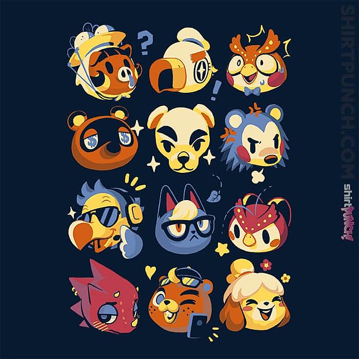 ShirtPunch: Island Faces