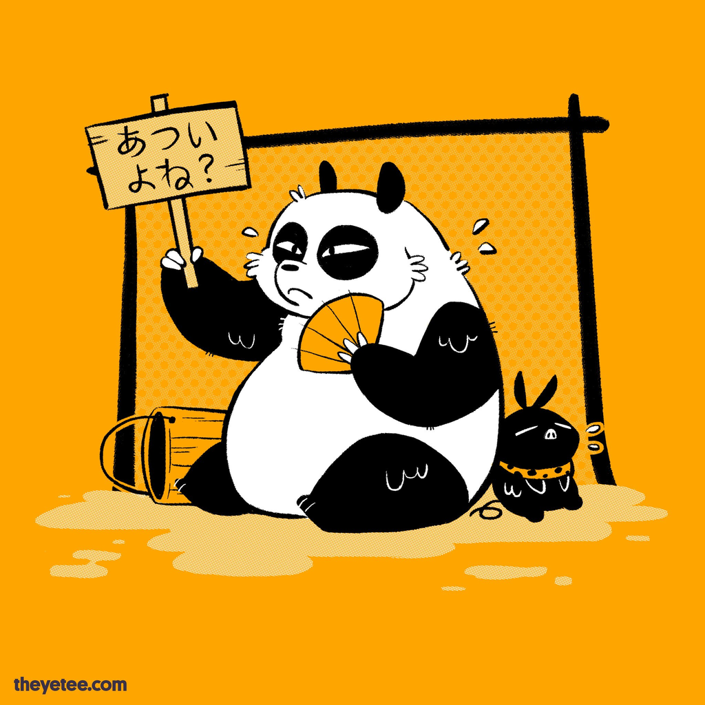 The Yetee: Hot, isn't it?