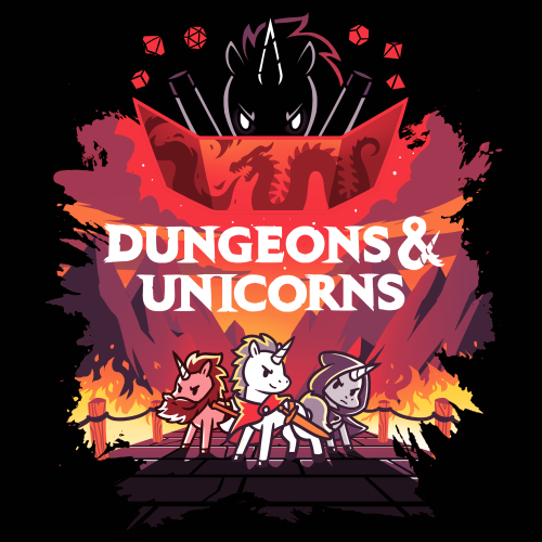 TeeTurtle: Dungeons & Unicorns (pt 2)