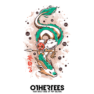 OtherTees: The Princess and the Dragon