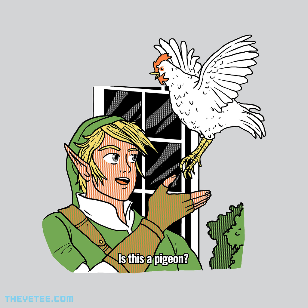 The Yetee: Is this a pigeon?