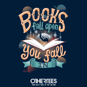 OtherTees: Books Fall Open