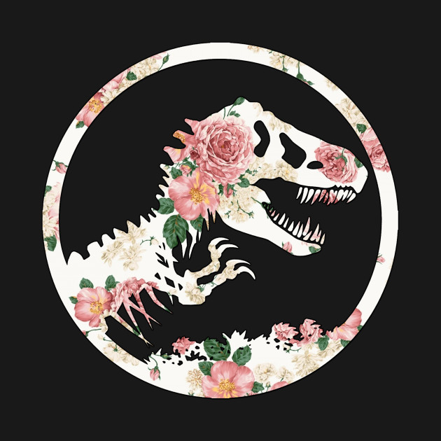 TeePublic: Jurassic Floral
