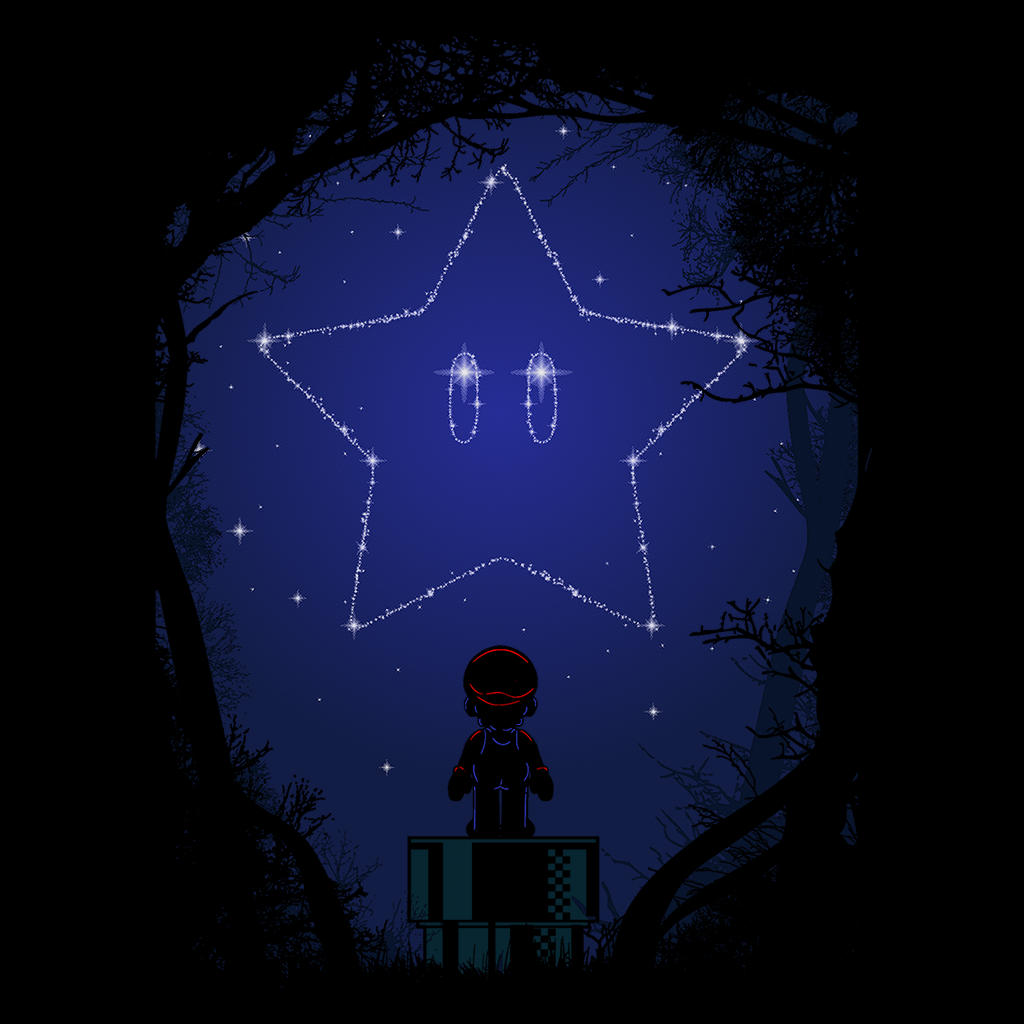 Pop-Up Tee: 1.3 Constellation Mario