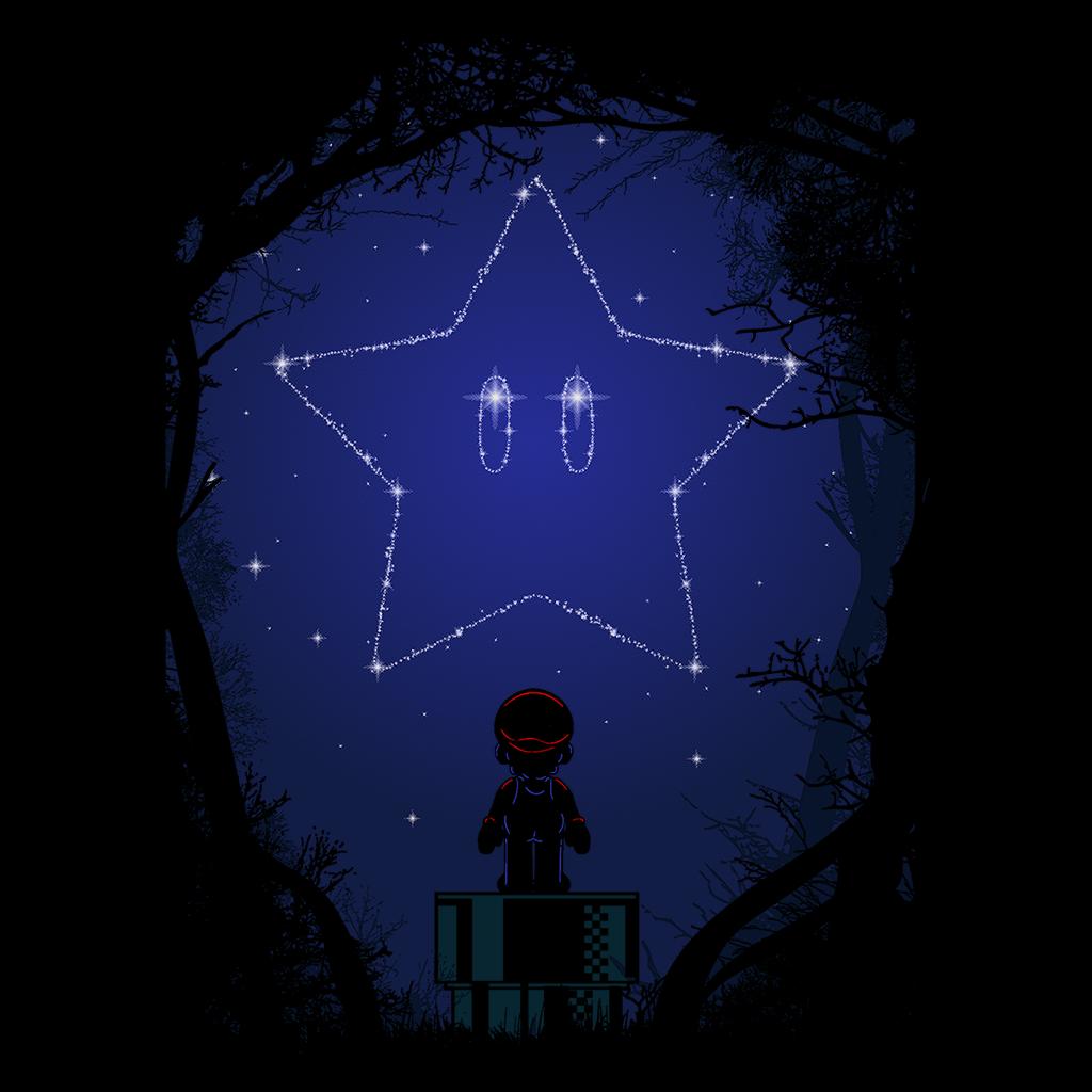 Pop-Up Tee: 1.3 Constellation Mario