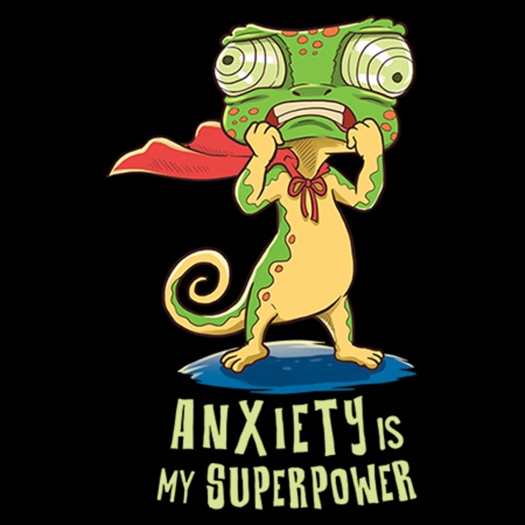 MeWicked: Anxiety Is My Superpower - Cute Animal