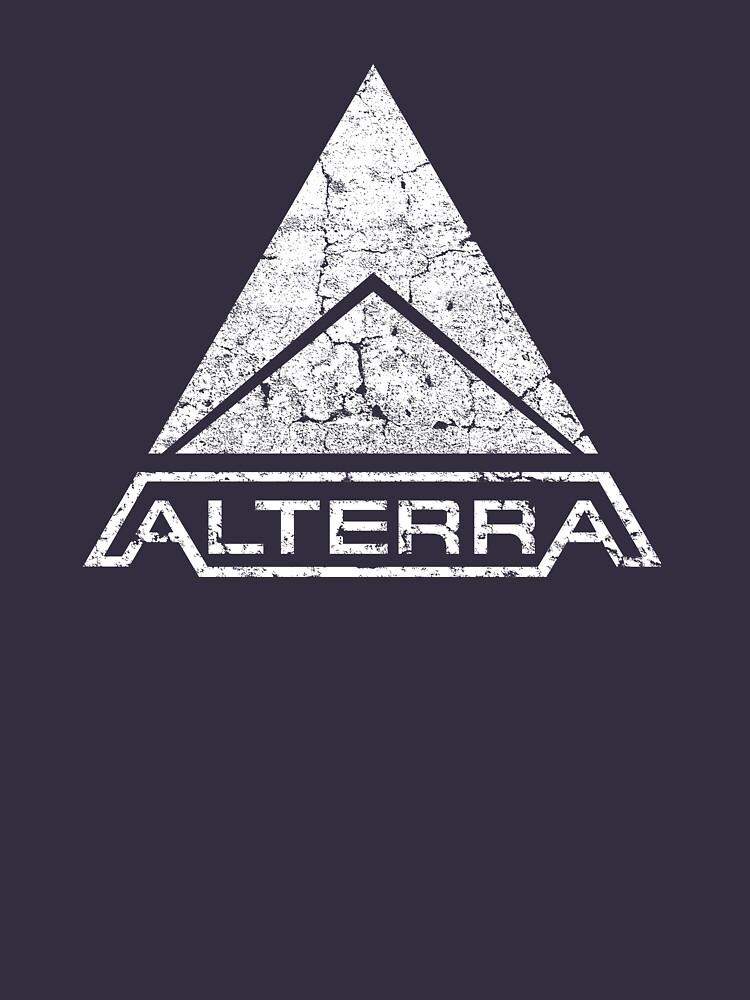 RedBubble: ALTERRA white logo