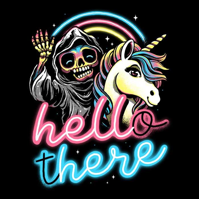Once Upon a Tee: Hello There
