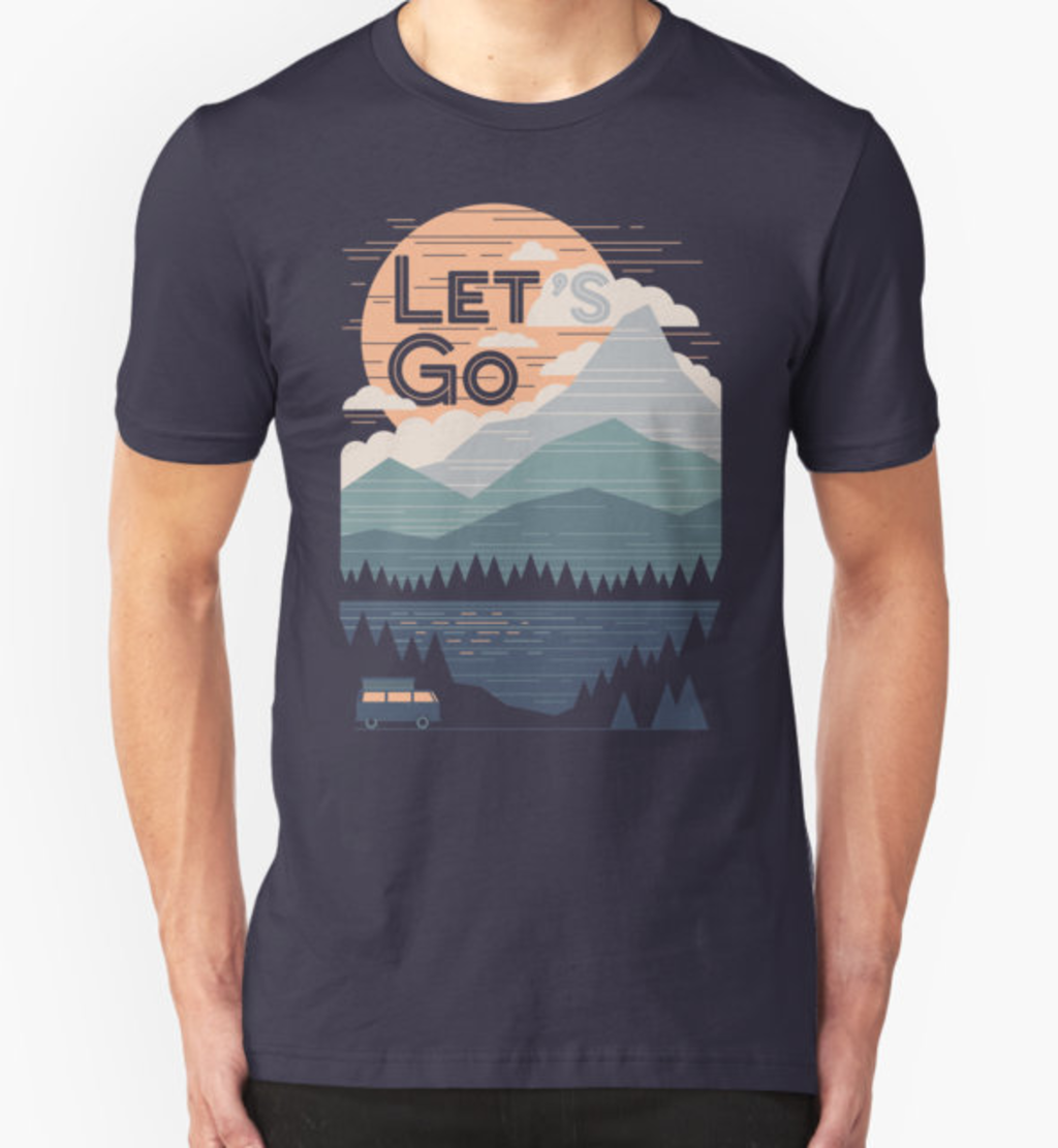RedBubble: Let's Go