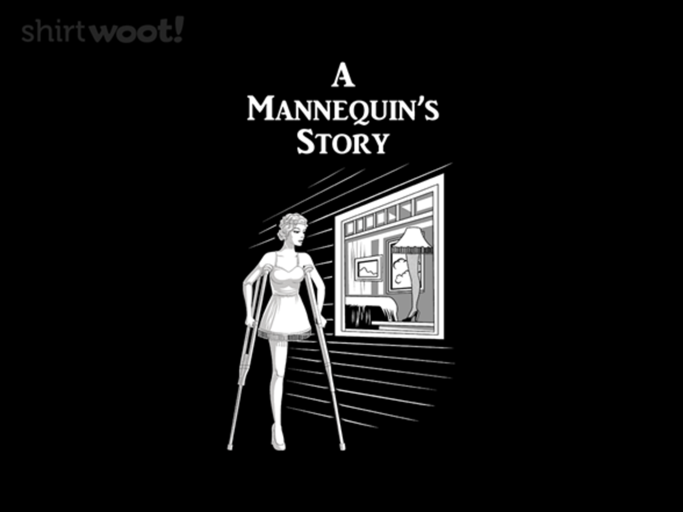 Woot!: A Mannequin's Story - $8.00 + $5 standard shipping