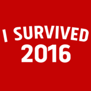 Textual Tees: I Survived 2016
