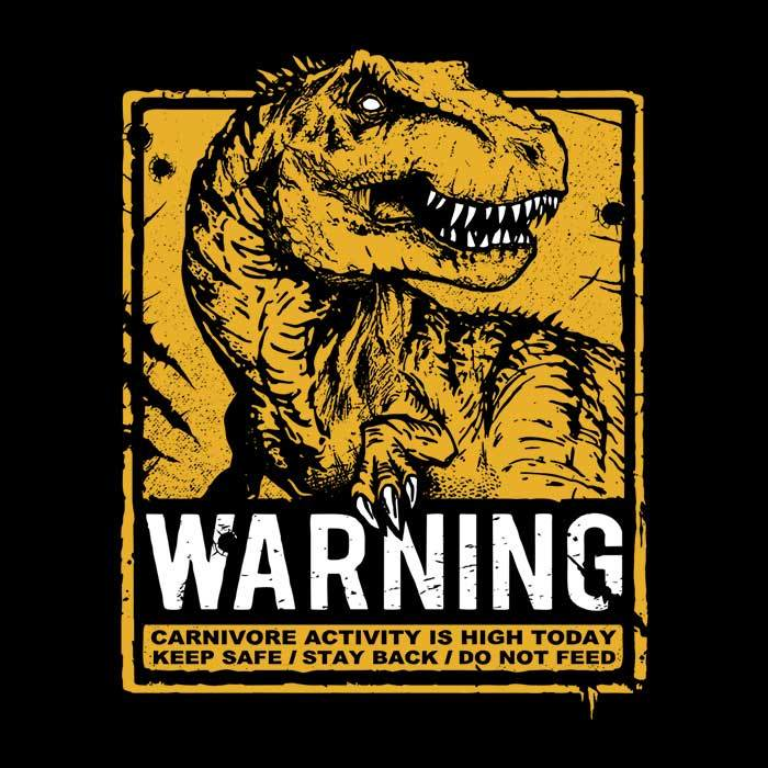 Once Upon a Tee: Warning: Carnivore