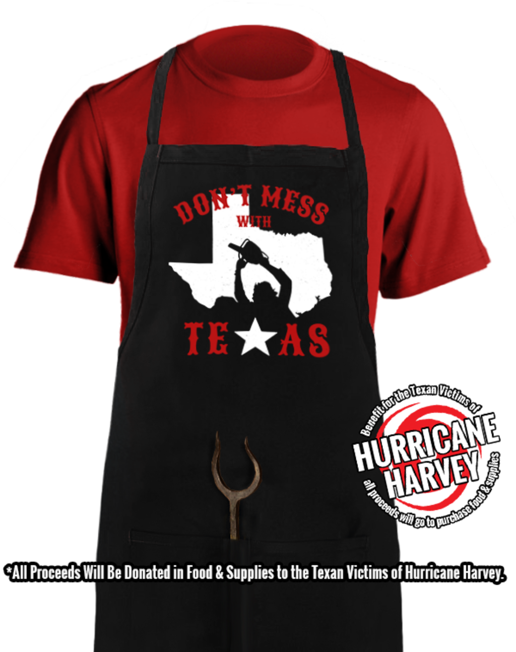 teeVillain: Don't Mess With TX Apron