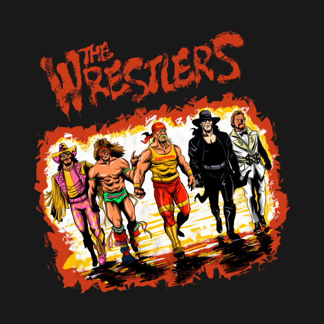 TeePublic: The Wrestlers