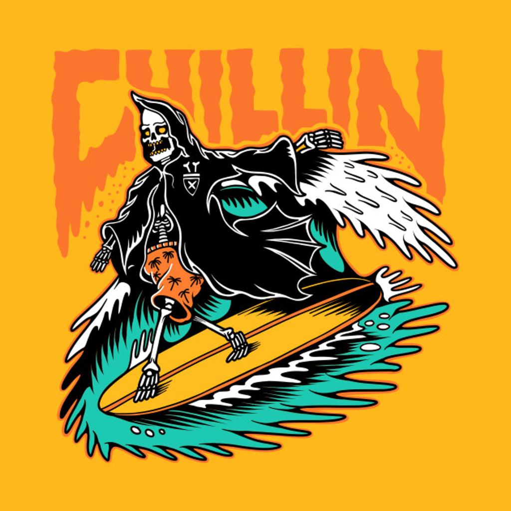 TeePublic: Surfing Reaper
