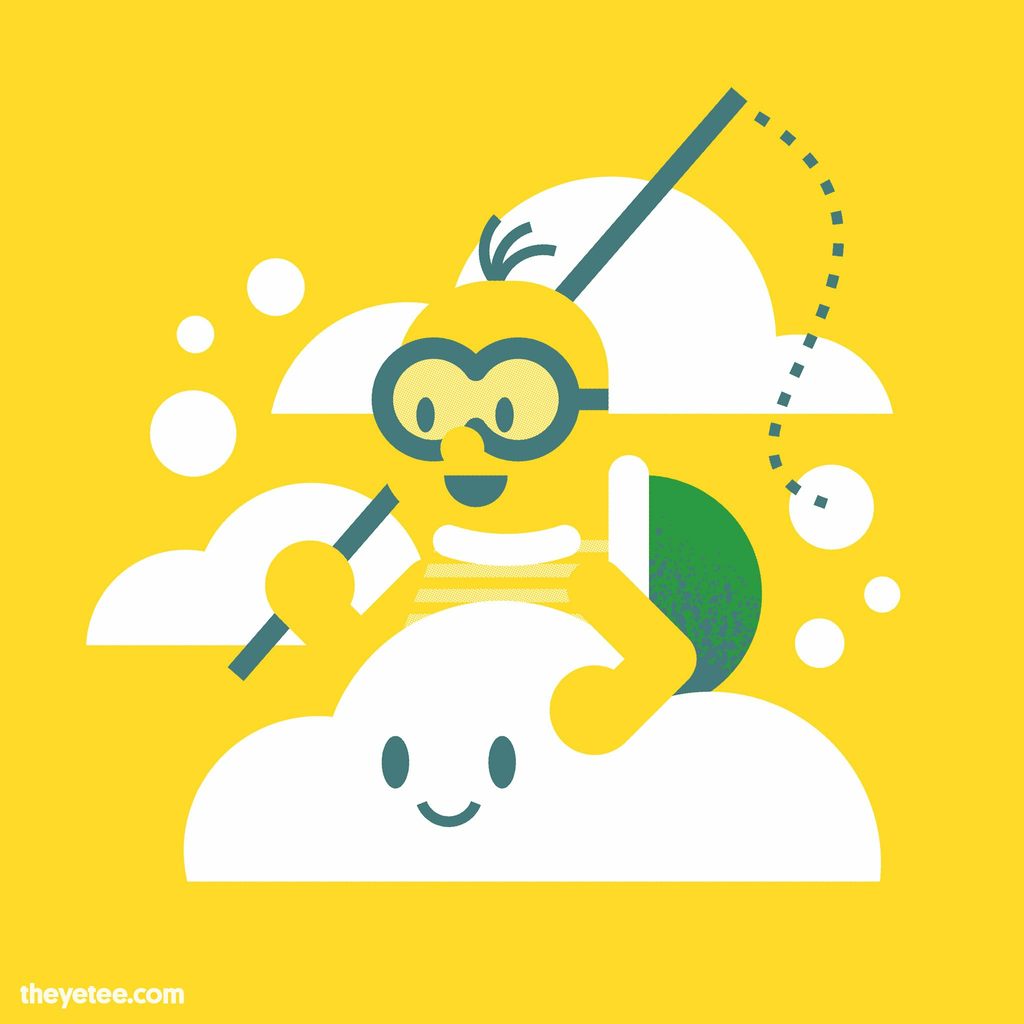 The Yetee: Cloud Rider