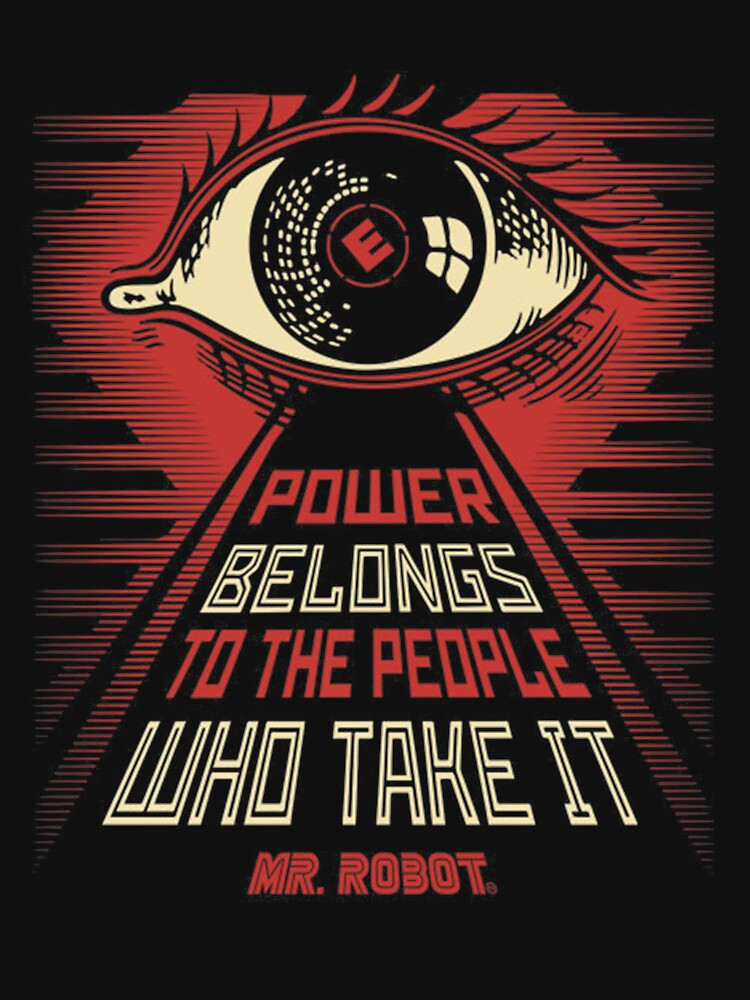 RedBubble: Power belongs to the people who take it