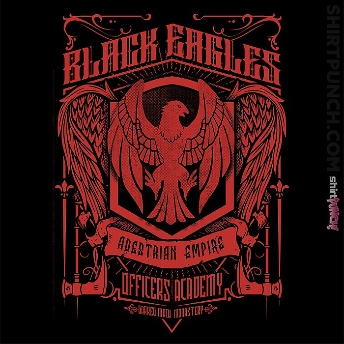 ShirtPunch: Black Eagles Officers Academy