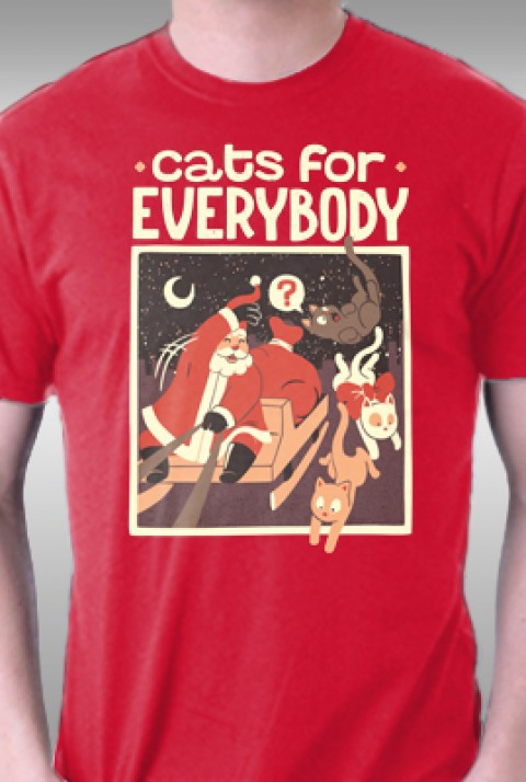TeeFury: Cats For Everybody