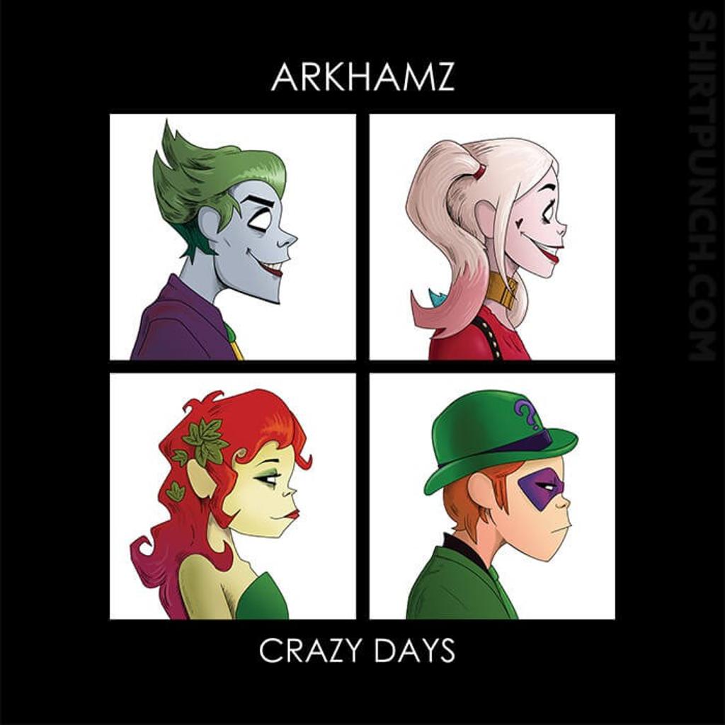 ShirtPunch: Arkhamz