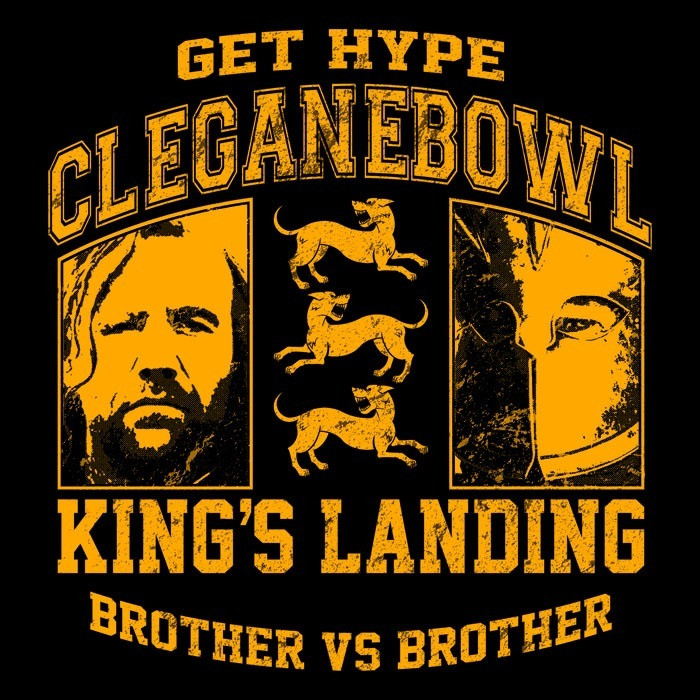 We Heart Geeks: Cleganebowl - Men's T-Shirt