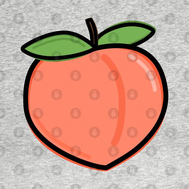 TeePublic: A Peach