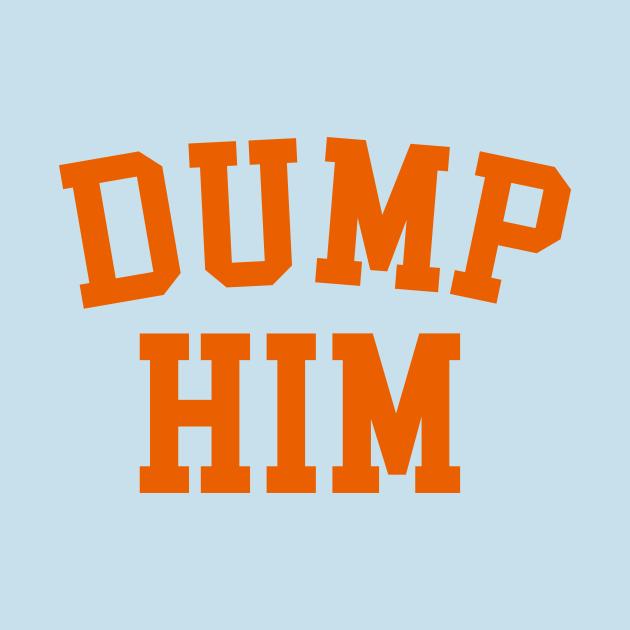 TeePublic: DUMP HIM - Britney Spears message