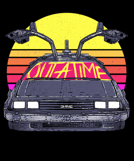 Qwertee: Outatime in the 80s
