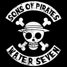Textual Tees: Sons Of Pirates